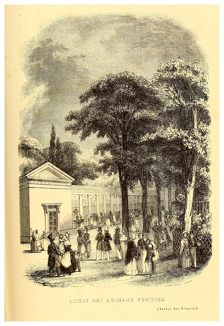 007-Pabellon de los animales salvajes-Le Jardin des plantes description et murs des mammifères..1842-Pierre Boitard