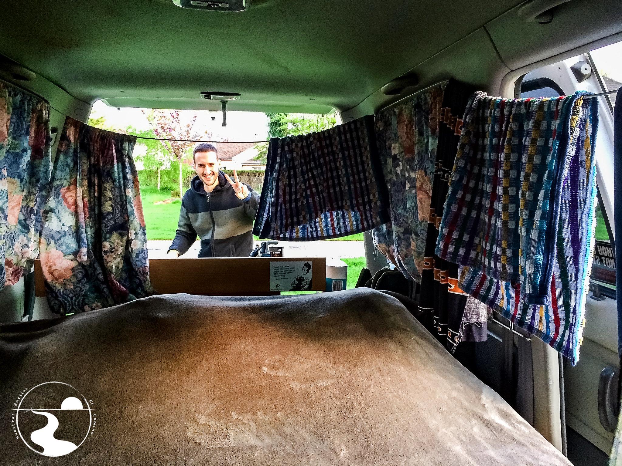 Cama de la furgoneta