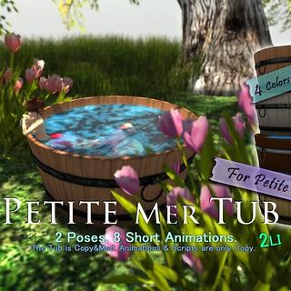 :KAMI-HITOE: Petite MerTub