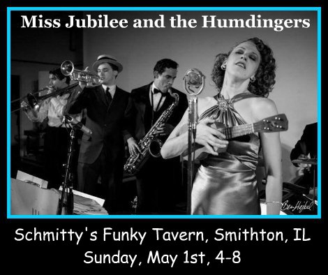 Miss Jubilee and the Humdingers 5-1-16