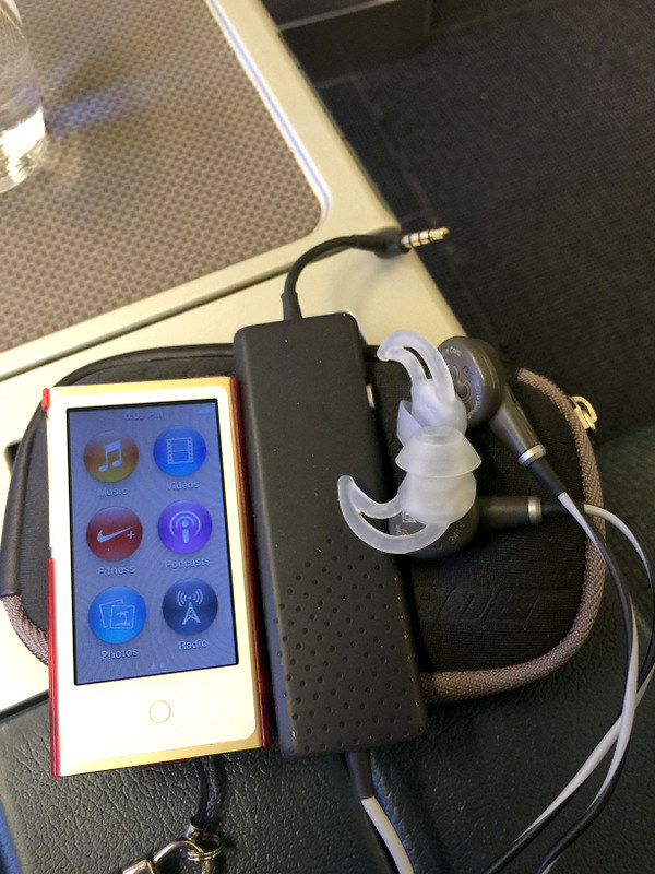Ipod Nano and Bose QC20
