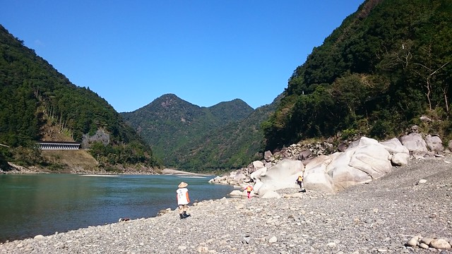 Traditional boat cruise along the Kumano River from Hitari to Kumano Hayatama Taisha