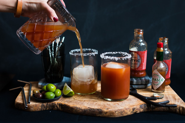 Spicy Beer Bloody Mary