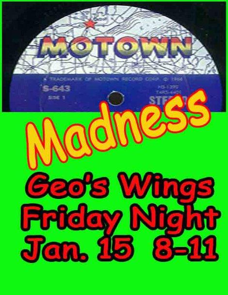 Motown Madness 1-15-16