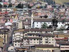 Ecuador - Quito desde arriba