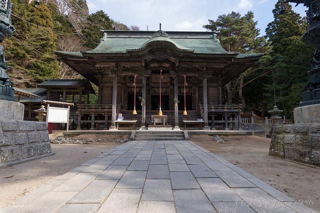 金華山 黄金山神社 御拝殿