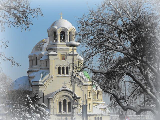 Sofia - The St. Alexander Nevsky Cathedral
