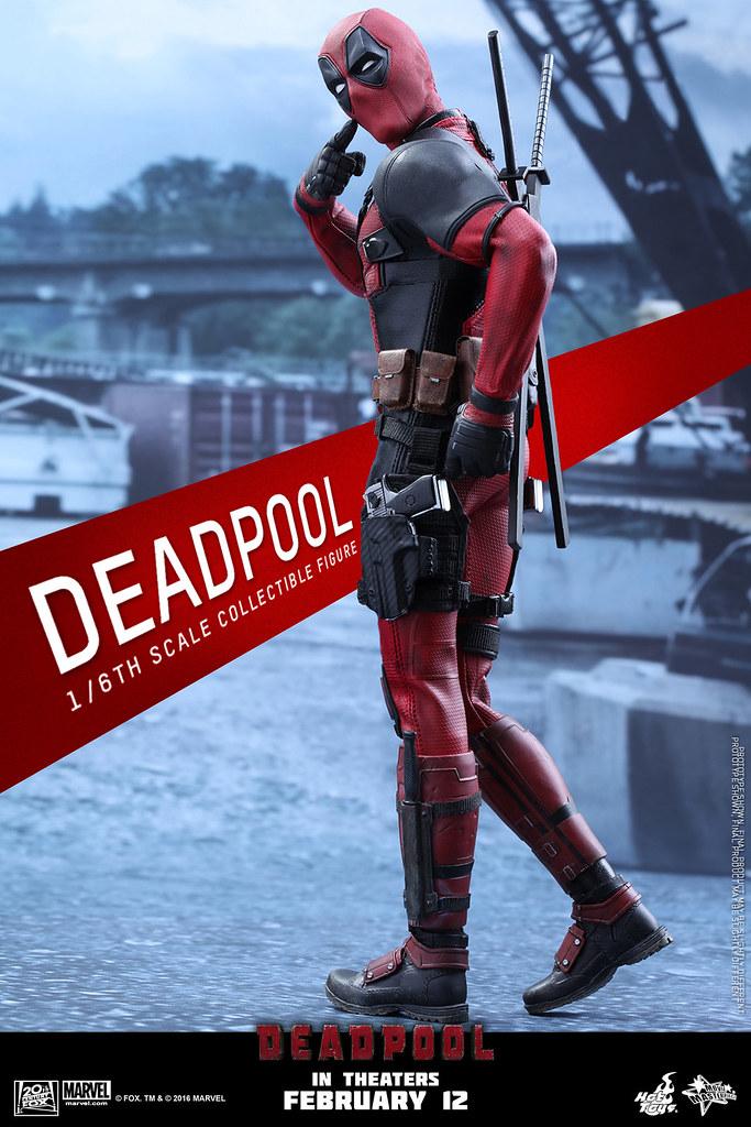 Hot Toys – MMS347 – 惡棍英雄:死侍【死侍】Deadpool 1/6 比例人偶作品