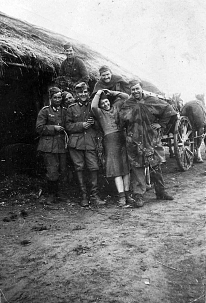 Domingo Rodríguez Romera DIVISION AZUL albaceteños frente ruso 1941 foto 6