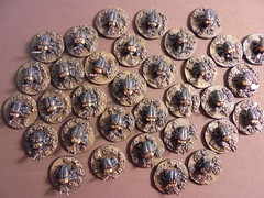 33 Giant Fire Beetles 28mm Scale