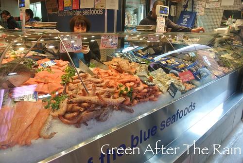 Queen victoria market melbourne green after the rain for Fish market queens