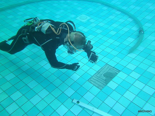 Onderwater reparatie