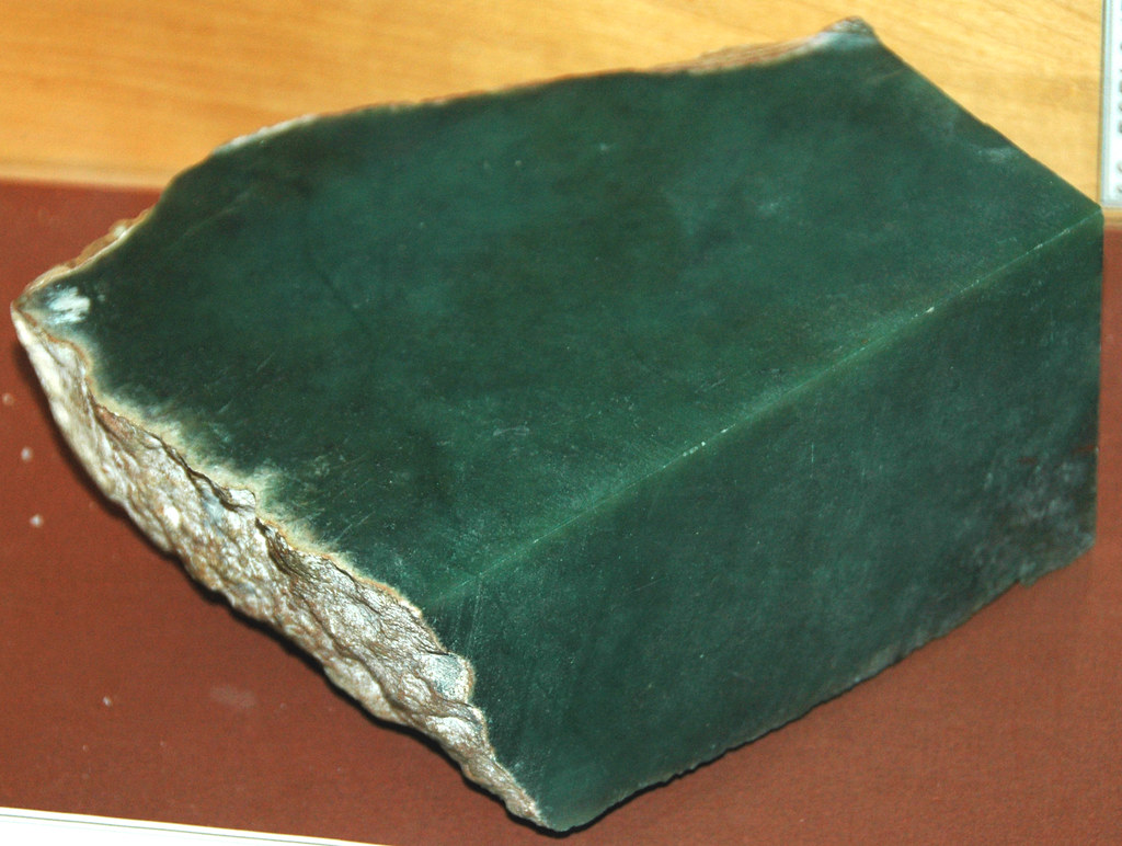 Jadeite Diamond Ring Set in 18K750 White Gold