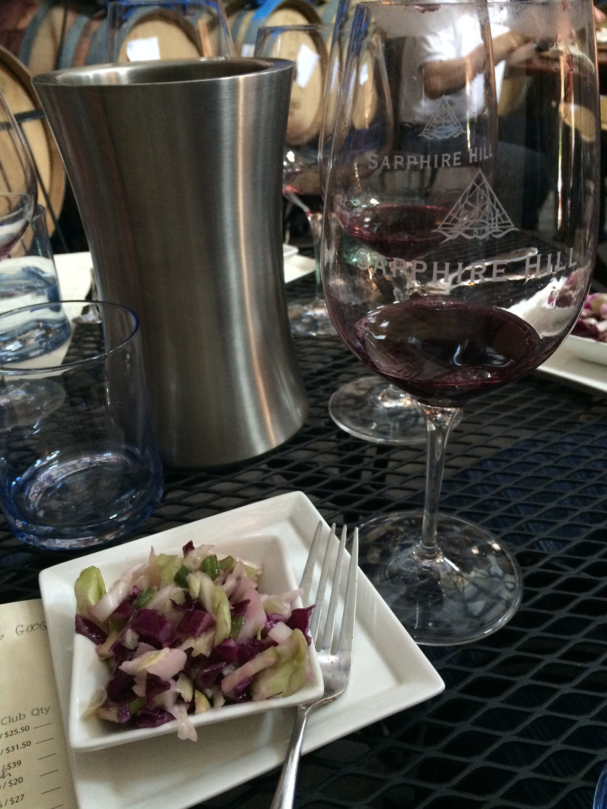 Sapphire Hill Food and Wine Pairing Lunch 3