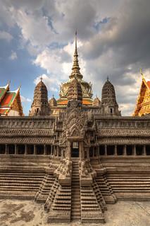 Bangkok - Mural in Wat Phra Kaew