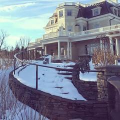 #cliffwalk in winter
