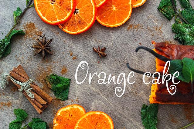 Orange cake •●Ƹ̴Ӂ̴Ʒ●•