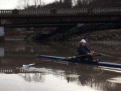 February Rowing in Ithaca