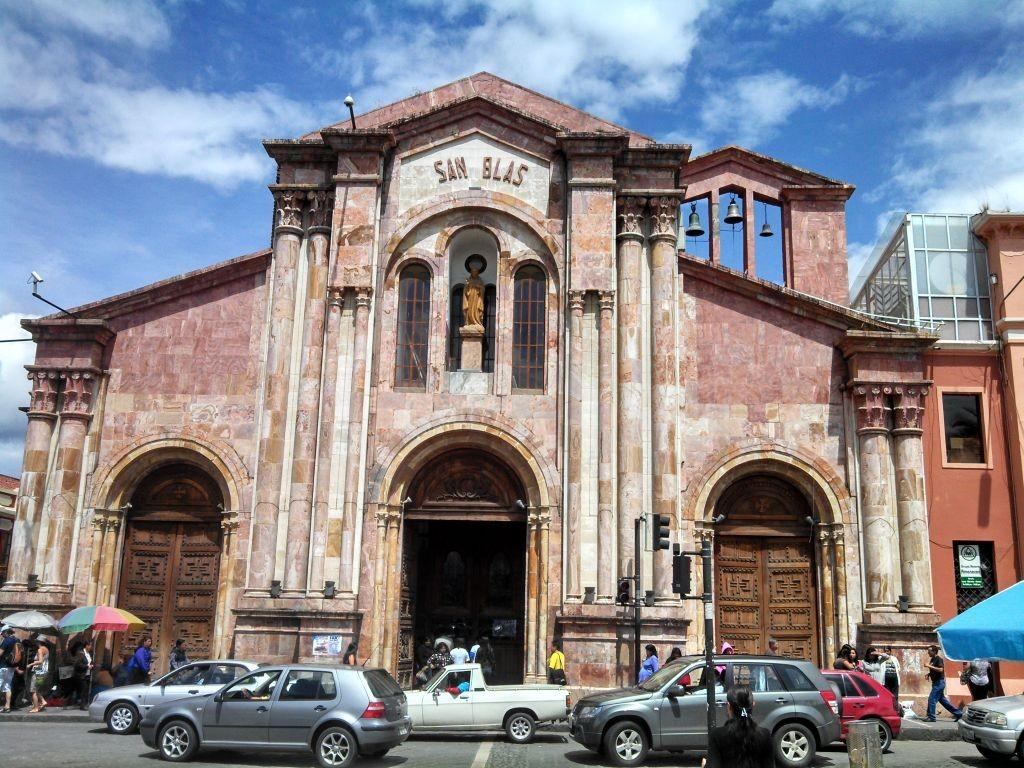 San Blas Church Cuenca Ecuador