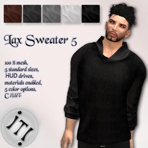 !IT! - Lax Sweater 5 Image