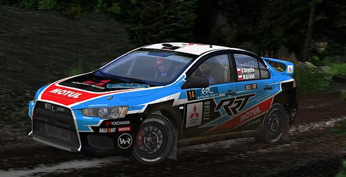 Daniel Zarychta - Mitsubishi Lancer evo X - Rookie Rally Team1