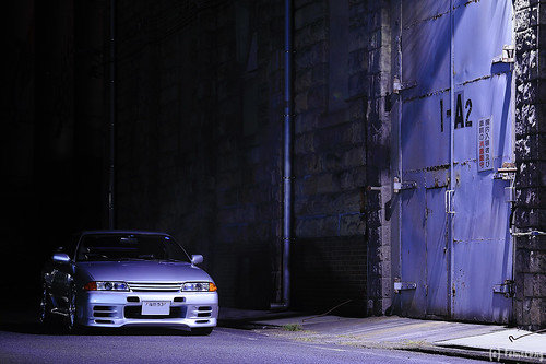 NISSAN R32 SKYLINE at Sasebo