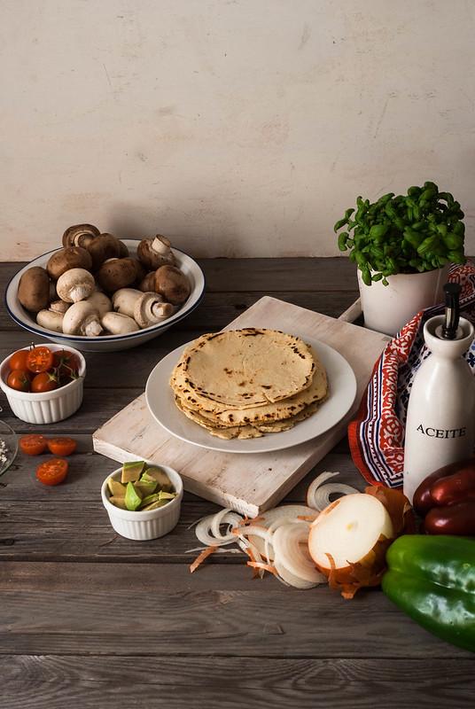 Tortillas mexicanas de maíz