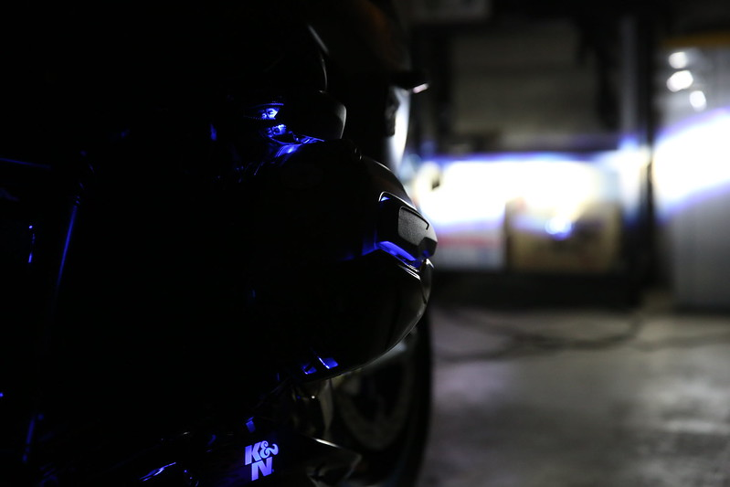 BMW R1200RS LED Illumination