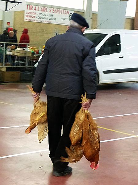 acheteur de poules
