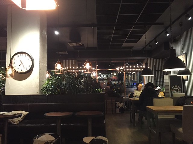 Middag på Espressohouse