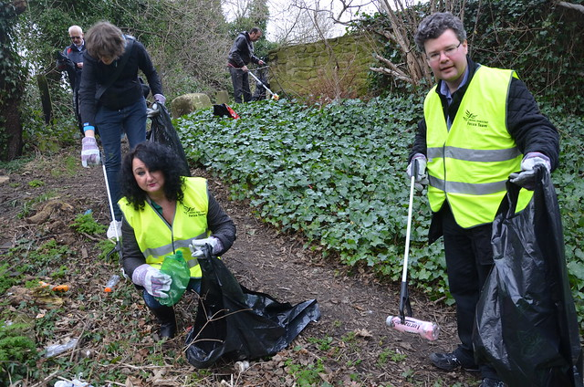 litter pick Low Fell Feb 16 (3)