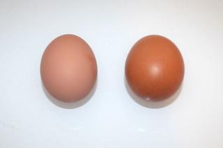12 - Zutat Hühnereier / Ingredient eggs