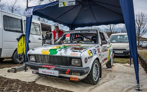 car race rally croatia yugo hrvatska zastava kumrovec