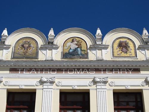 Cienfuegos: le Théâtre Tomas Terry et ses mosaïques