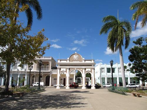 Cienfuegos: l'Arc de Triomphe (dans le Parc José Martí)