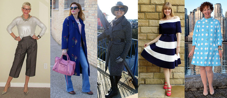 Fashion bloggers wearing pattern #iwillwearwhatilike