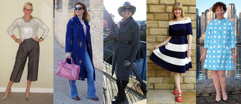 Fashion bloggers wearing pattern #iwillwearwhatilike