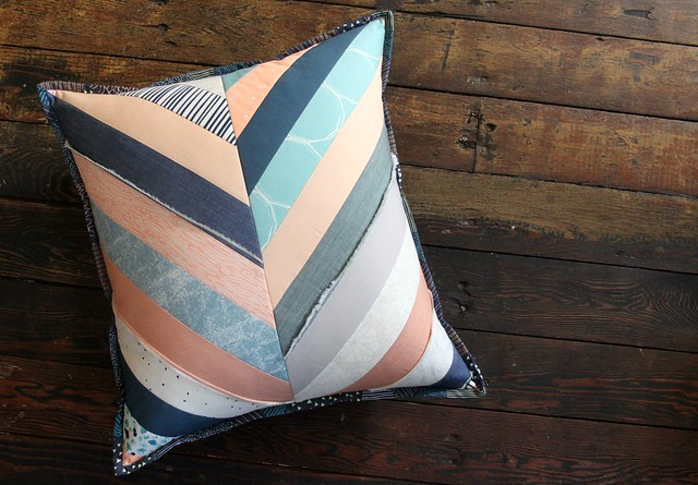 A Bundle Love Herringbone Pillow