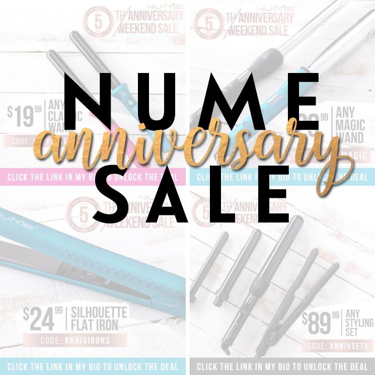 NuMe anniversary sale main