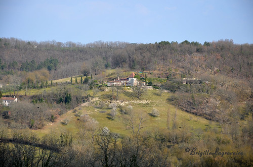 Un beau domaine accroché à la colline