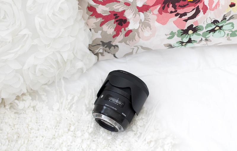 sigma 35mm F1,4 objektiivi