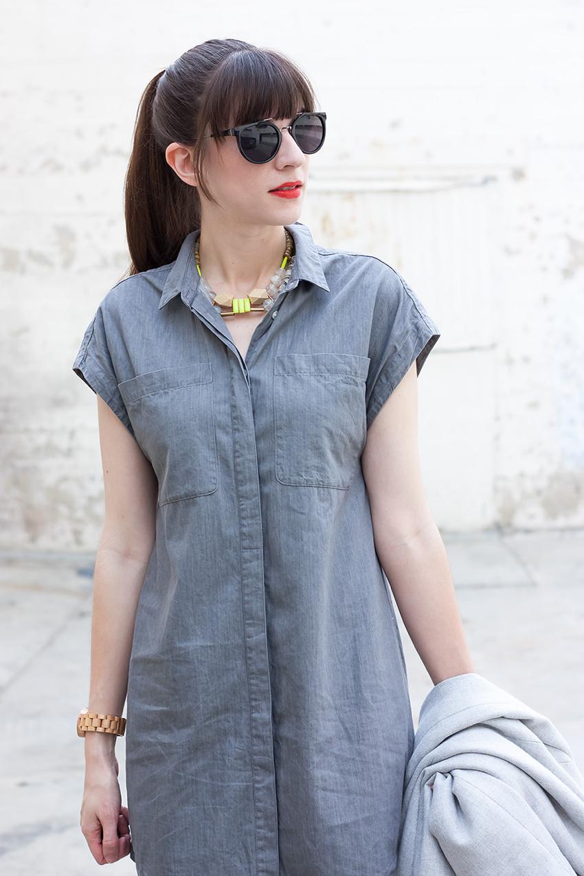 Everlane Shirtdress, Everlane