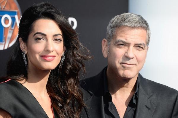 Фото | Джордж и Амаль Клуни