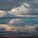 Mono Lake Rain Storm by Olancha Peak