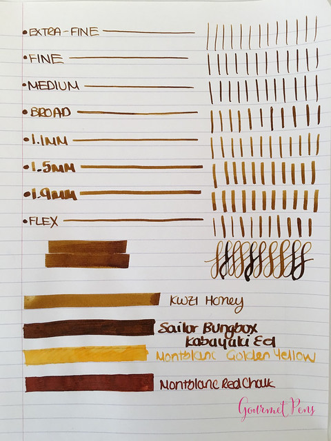 Ink Shot Review KWZ Ink Honey @Vanness1938 (7)