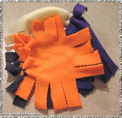 How to: No Sew Fleece Cube / Box Shelf 26026639480_aec89799f0
