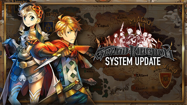 Grand Kingdom's Gameplay Systems