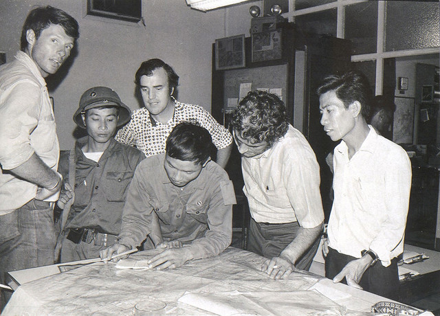 SAIGON April 30, 1975 - The last three staffers in The Associated Press' Saigon bureau
