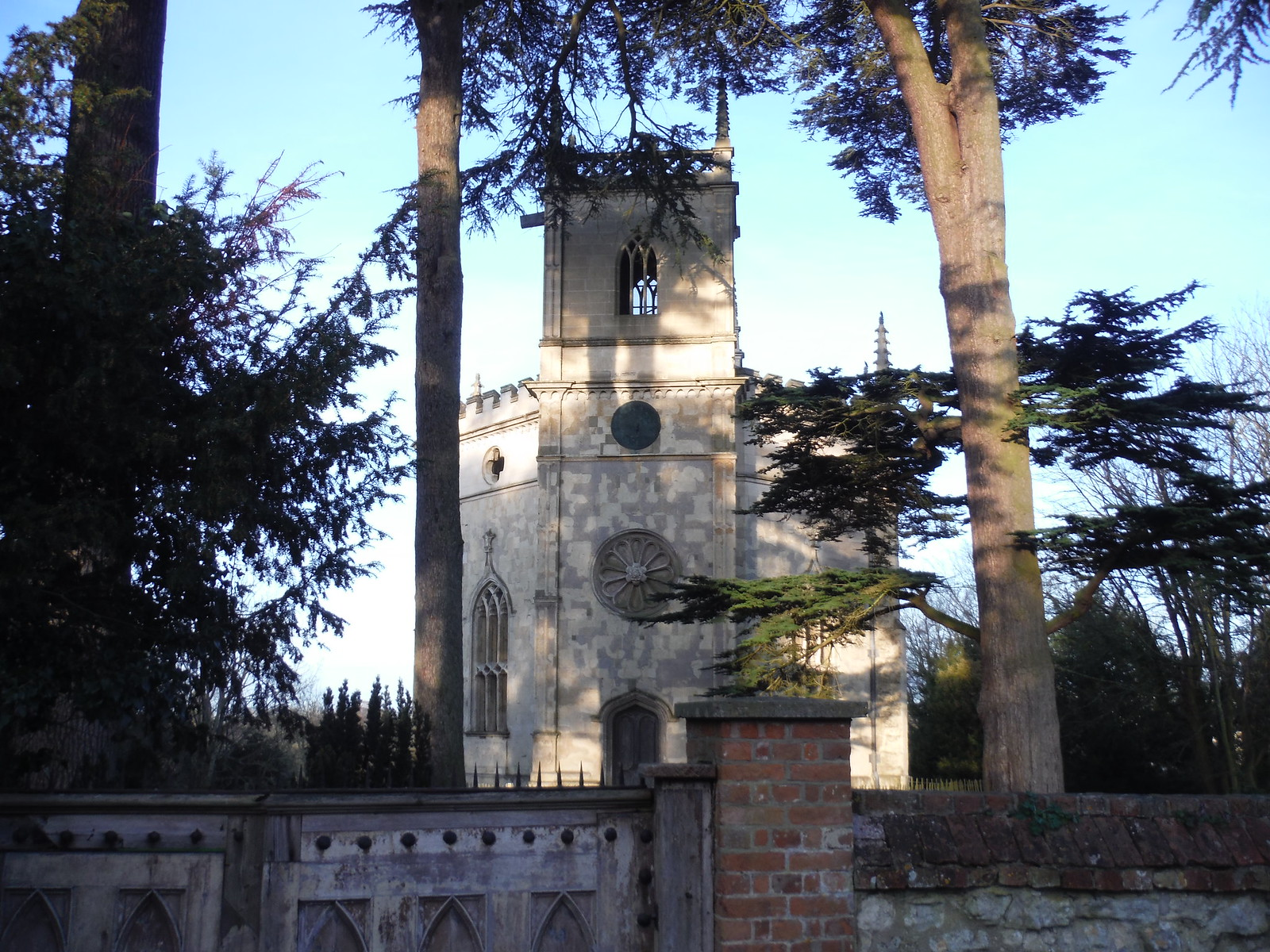 Hartwell Church (Of the Assumption of the Blessed Mary) SWC Walk 193 Haddenham to Aylesbury (via Gibraltar and Ford)