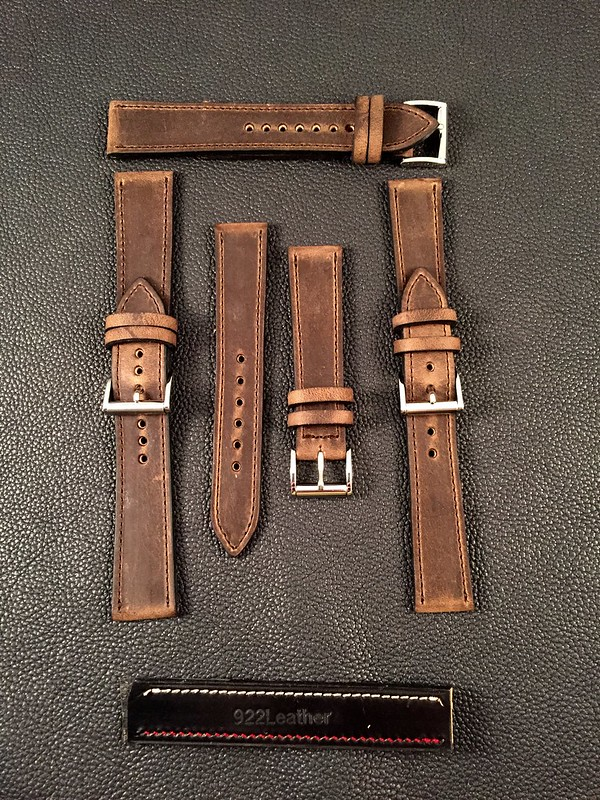 Crazy Horse Leather Straps